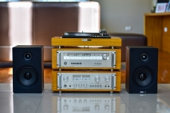 Mini Stereoanlage mit Verstärker