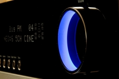 Stereoanlage AV Receiver beleuchtet