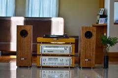 Stereoanlage mit Verstärker