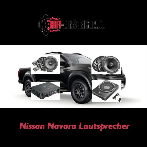 Nissan Navara Lautsprecher