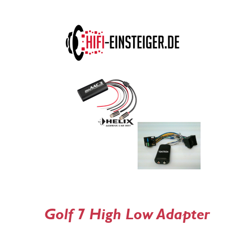 Golf 7 High Low Adapter