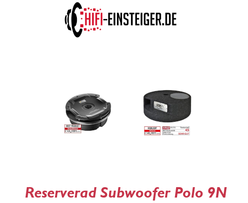 Reserverad Subwoofer Polo 9N