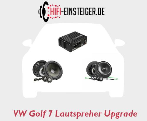 VW Golf 7 Lautsprecher Upgrade